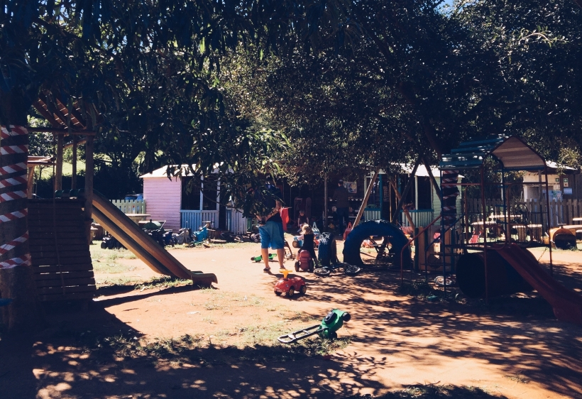 The Playground area