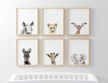 Safari_Babies_Framed_-_cot_x1024