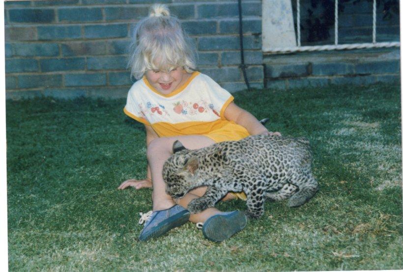 teri & leopard