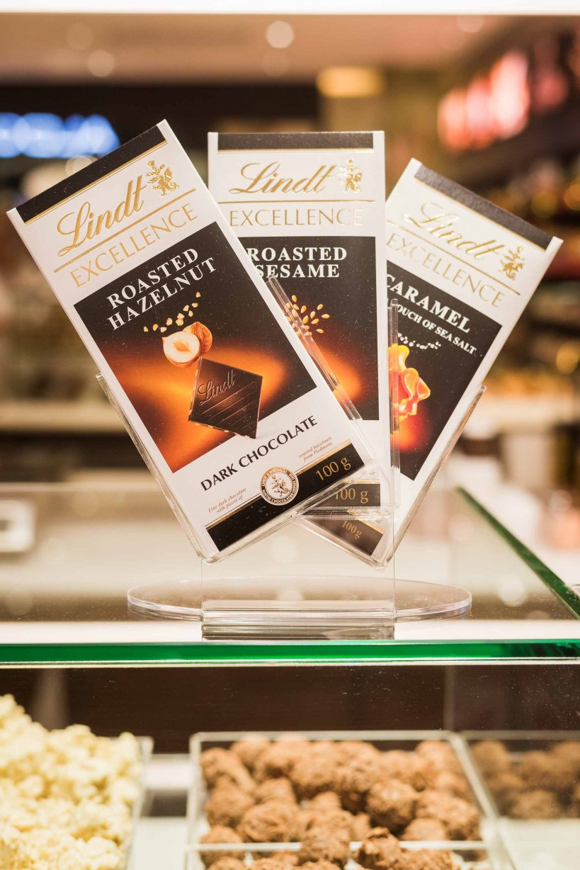 LINDT Chocolate Boutique opens at the Pavilion – Choose a Row